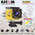 Original sjcam sj4000 sj cam ação câmera de vídeo à prova d' água 30 m mergulho 4000 2.0 Esporte DV 1080 P Full HD Mini 10 M Capacete Camcorde