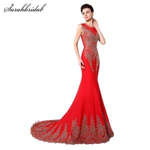 Robe De Soiree Real Photos Royal Blue Mermaid Plus Size Evening Dresses Arabic Illusion Lace Long Party Dresses Gown XSU028