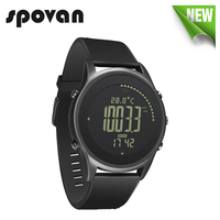 SPOVAN Business Watch For Men Carbon Fiber Sport Watches 70g Ultra Thin Silica Gel Watchband Backlight