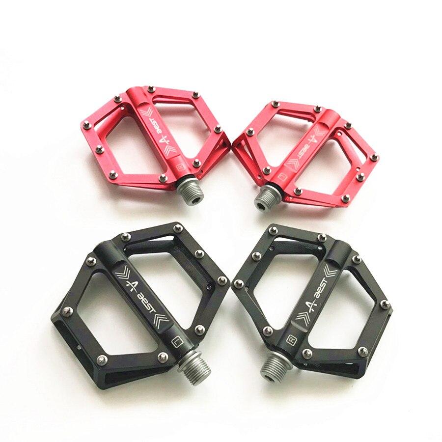 Livraison gratuite haute qualité VTT chrome molybdène acier roulement pédale au-delà wellgo pédale vélo accessoires vtt