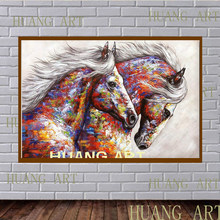 animal wall art horse picture wall decor canvas painting home decor rh aliexpress com