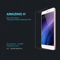 Original NILLKIN For Xiaomi Redmi 4a Screen Protector Amazing 9H 0 33mm Film For Redmi 4a