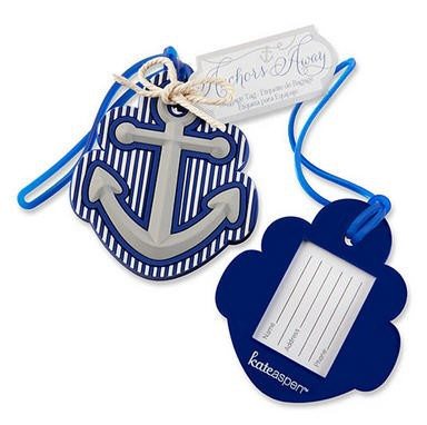 Free Shipping 35pcs lot wedding favors Anchor Luggage Tag Favors