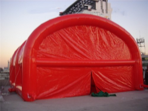 2017 Red inflatable booth / inflatable tent for kids / inflatable log cabin tent house tent