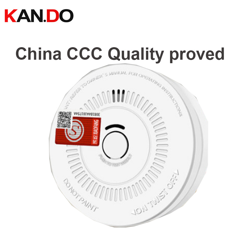 3C Quality Proved 108  Smoke Fire Alarm Smoke Detector Home Security Alarm System Smoke Alarm Smoking Sensor Work Alone