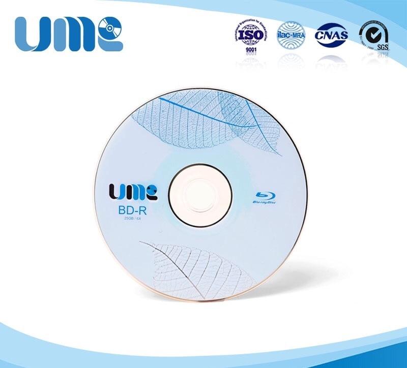 Grade Eine Bd-r 50 Gb 6x Blu Ray Disc Blank Bluray Disc Inkjet Druckbare Blu-ray Disc-50 Pcs Spindel Box Computer & Büro Blank Disks