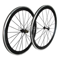 2015 Hot Sale Carbon Wheelset 60mm Alloy Braking Surface Clincher Road Bike Carbon Wheel