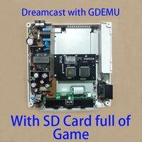Dreamcast CD симулятор GDEMU виртуальный оптический привод Hack ретро игровых консолей VA1 хост оригинальный 220V 110V питание 128 ГБ