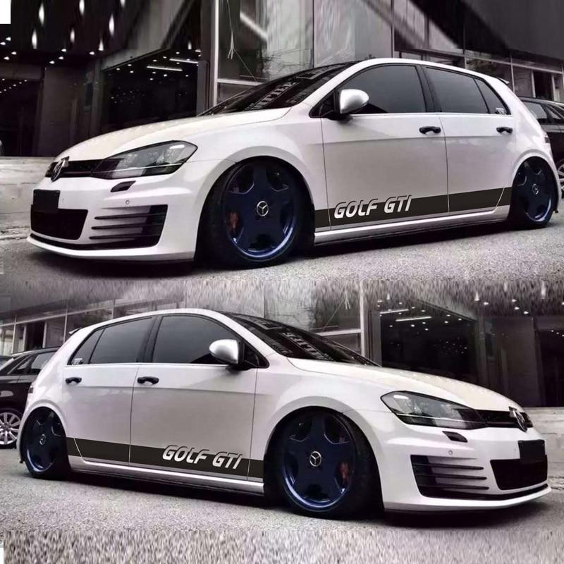 TAIYAO car styling sport autocollant de voiture Pour VOLKSWAGEN GOLF GTI 5 6 7car accessoires de voiture autocollants et décalcomanies auto autocollant