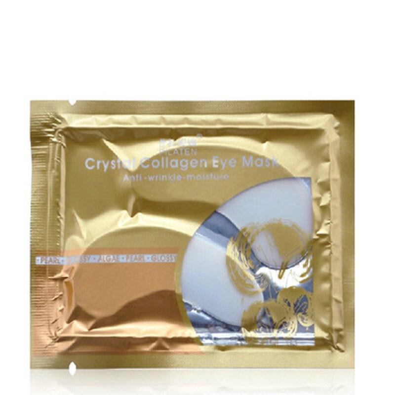 500 пар кристалл коллагеновая маска для глаз патч глаз темные круги Нашивки отбеливание Anti-Aging Уход за кожей