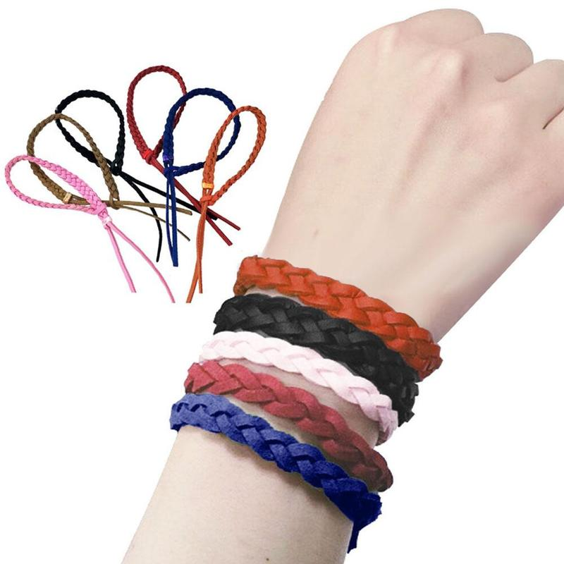 5pcs Mosquito Repellent Bracelet Hand Ring Natural DEET FREE Insect Repellent Bands Mosquito Killer Random Color Dropshipping