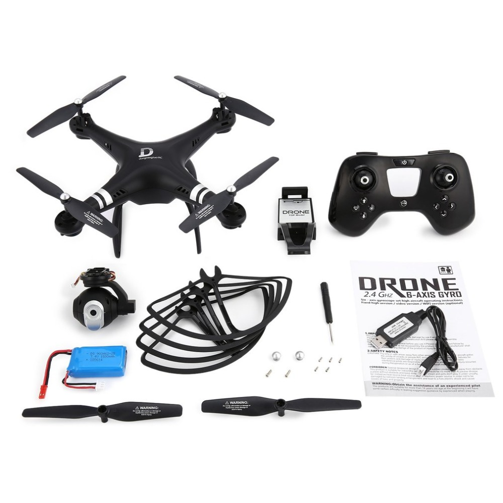 X8 RC Drone 2 4G FPV RC Quadcopter Drone with Adjustable Camera Altitude Hold Headless Mode 3D-Flip 18mins Long Flight