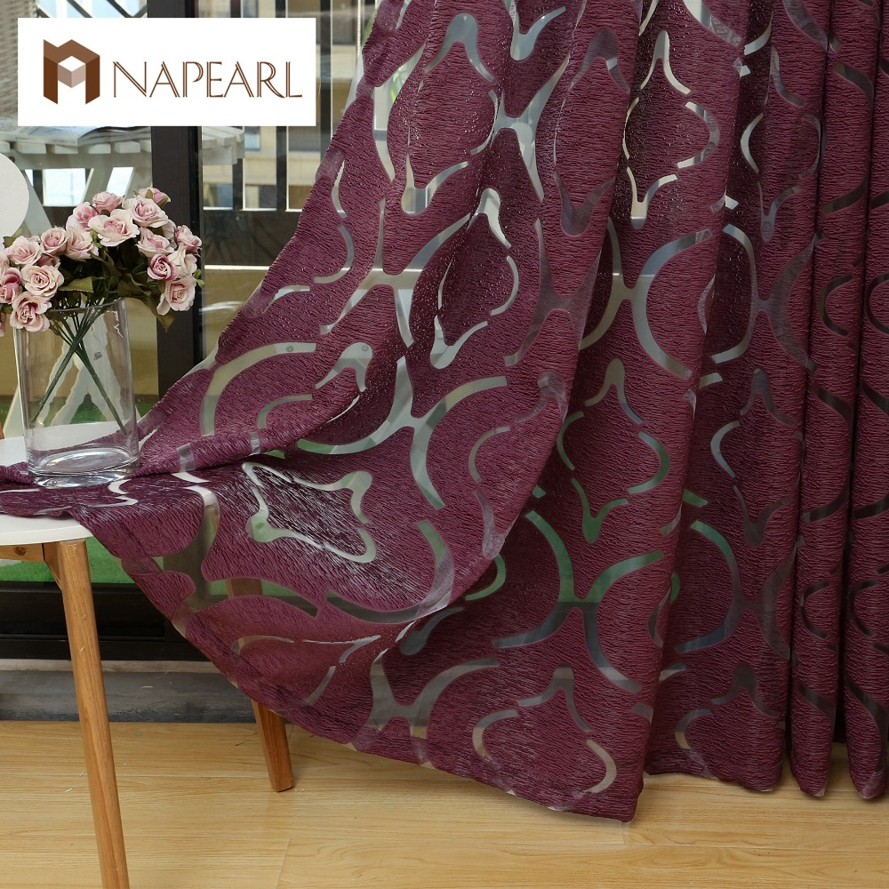 modern curtain red purple 3d curtains home decoration bedroom curtains window fabric curtains. Black Bedroom Furniture Sets. Home Design Ideas