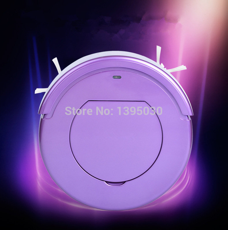 1PC KRV205 Ultra-Thin Intelligent Robot Household Automatic Efficient Vacuum Cleaner
