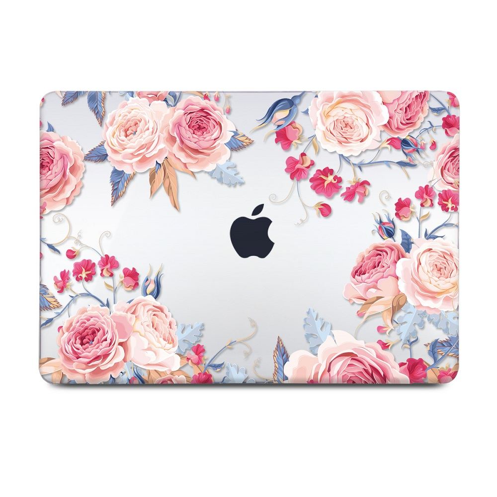 Floral Printing Hard Case for MacBook 136