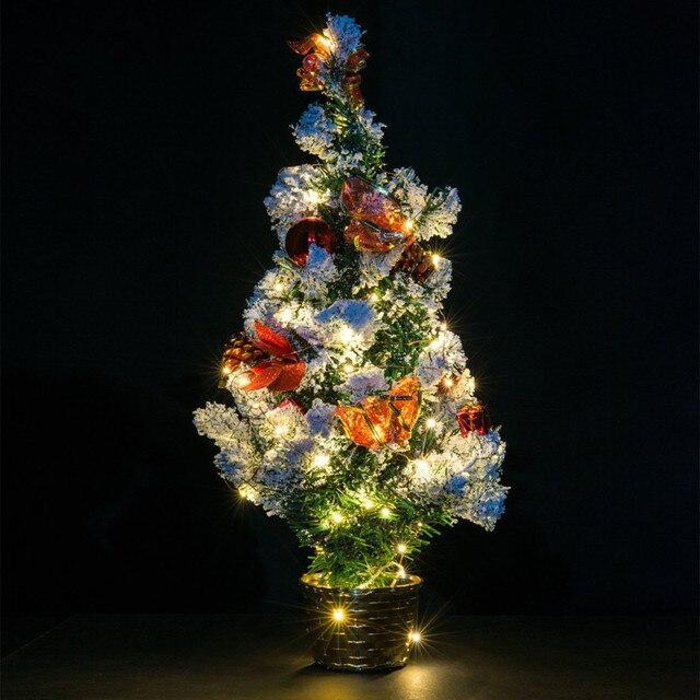 3823a7f5cba Magia resistente al agua de Navidad LED de luz de batería operada LED árbol  de Navidad