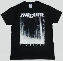 THE CURE T-SHIRT A FOREST Tops Summer Cool Funny T-Shirt Mans Unique Cotton Short Sleeves O-Neck T Shirt