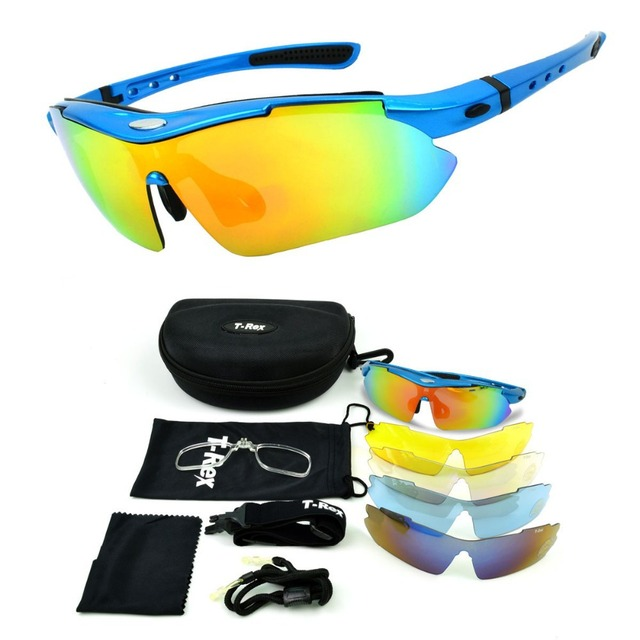 589cc2091c4 Free shipping Professional Polarized Cycling Glasses Bike Racing Goggles  Outdoor Sports Bicycle Sunglasses UV 400 With 5 Lens