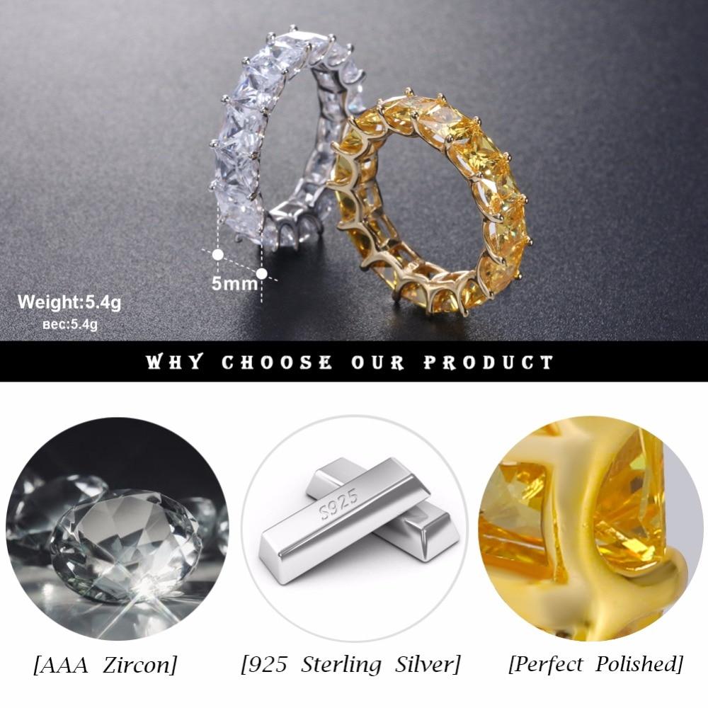 HTB1.uu9p.QIL1JjSZFhq6yDZFXaX ORSA JEWELS 100% Real 925 Sterling Silver Rings For Women Men Engagement & Wedding Band AAA CZ Trendy Party Jewelry SR48