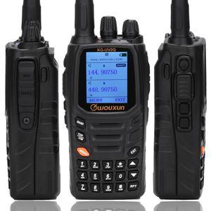 Image 2 - Wouxun KG UV2Q de 8W de alta potencia, 7 bandas que incluyen banda de aire, repetidor de banda cruzada, Walkie Talkie, actualización KG UV9D Plus Ham Radio
