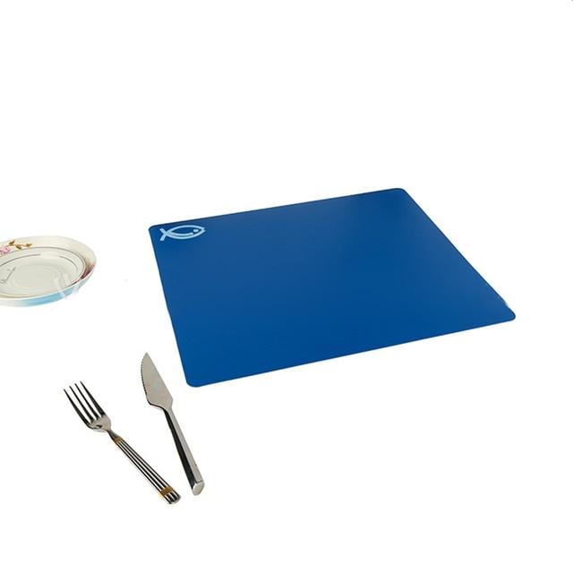4 PCS Classification Chopping Block PP Anti-slip Rectangle Cutting Board 4