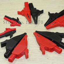 Plug Alligator-Clip Red And Black 4mm SA Cl4258 One-Pair--5set/Lot Each Small-Medium-Large