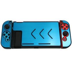 NS 액세서리 합금 케이스 커버 게임 콘솔 기쁨 콘 조이스틱 케이스 보호 Nintend 스위치 콘솔 및 컨트롤러 보호