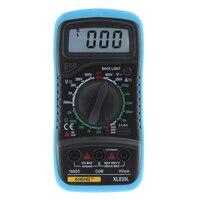 XL830L Digital LCD Multimeter Back Light AC DC Voltmeter Ammeter OHM Voltage Current Resistance Tester
