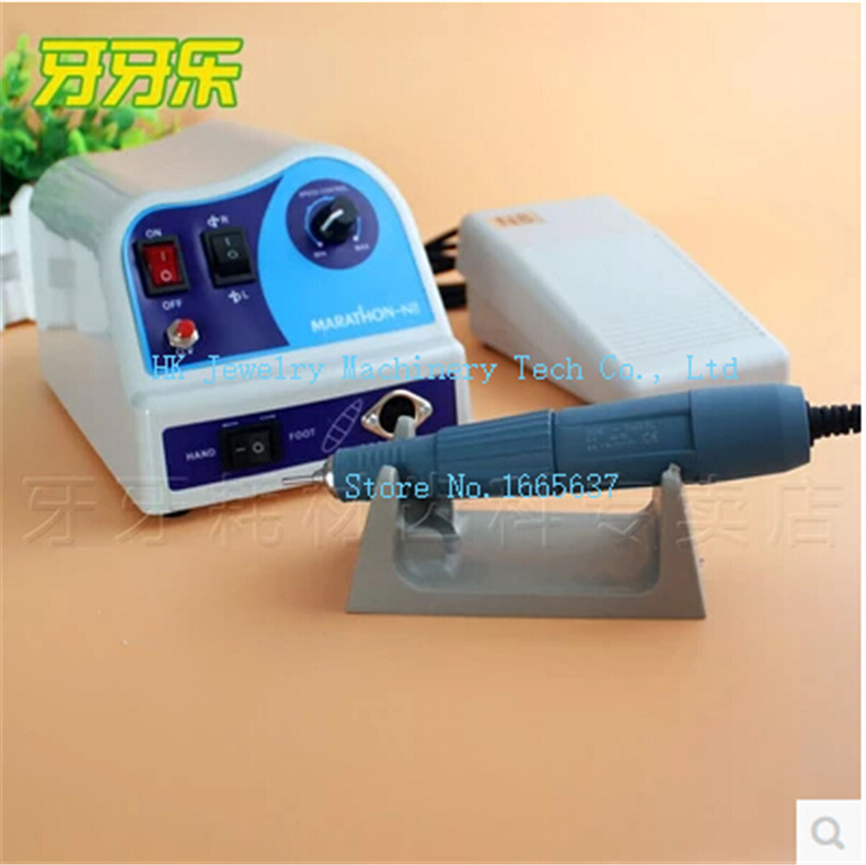 Dental Lab MARATHON 35K RPM Handpiece Electric Micromotor Polisher Electric Marathon Micromotor high quality 2016 new 2016 new control unit box for electric micromotor marathon polishing polisher motor machine n7 35k rpm