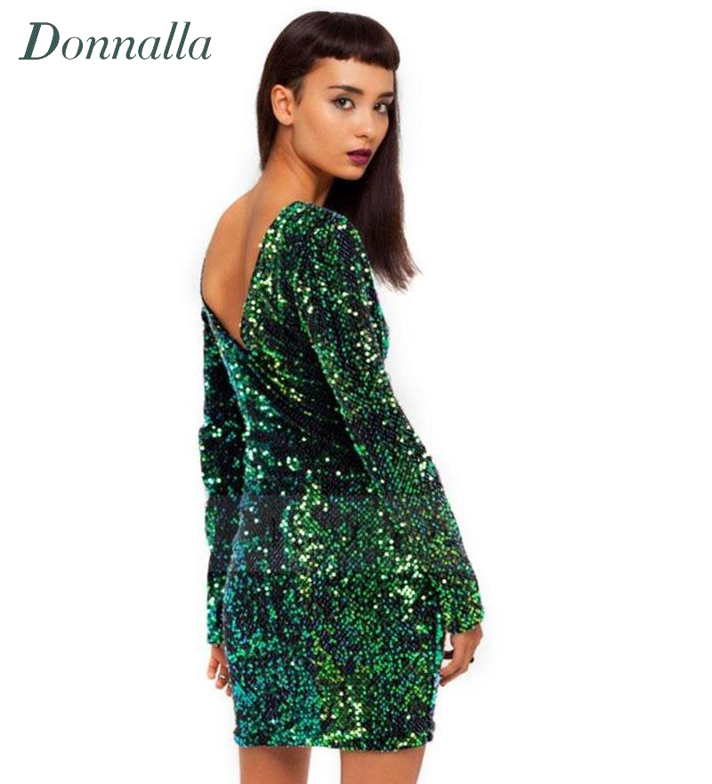 Long Sleeve Christmas Party Dresses