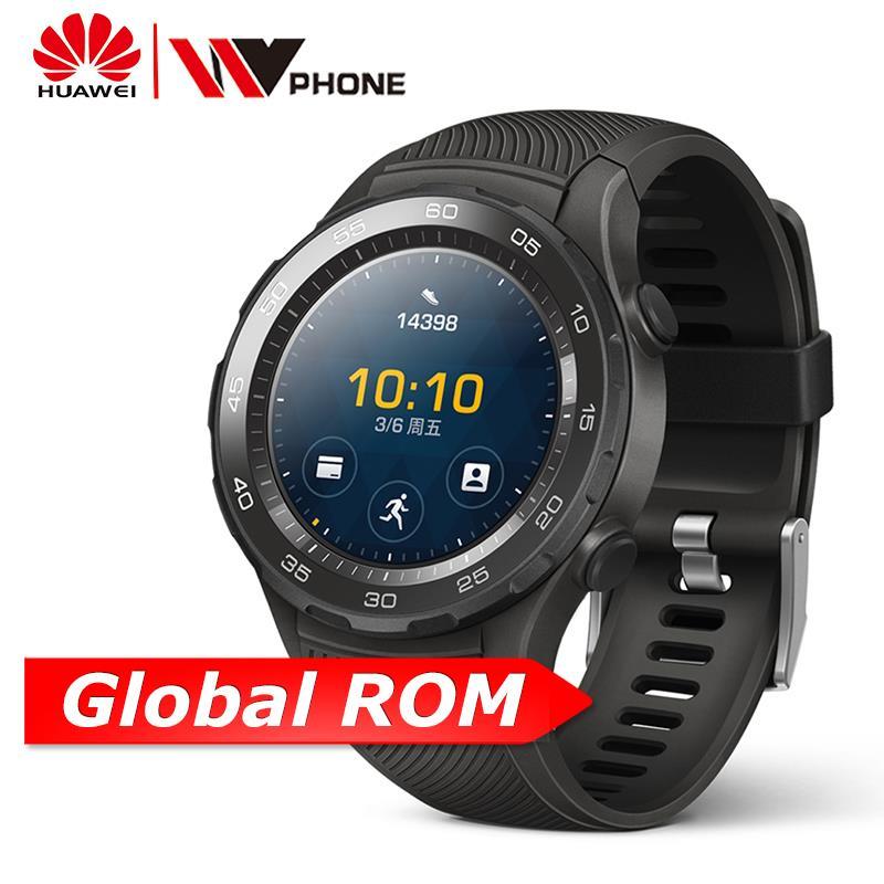 Huawei originais Assistir relógio Inteligente Apoio 2 4G Telefonema LTE Freqüência Cardíaca Rastreador GPS Para Android iOS IP68 à prova d' água