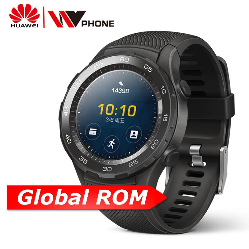 Original Huawei Watch 2 Smart watch Support LTE 4G Phone Call Heart Rate Tracker For GPS Android iOS IP68 waterproof