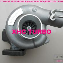 TD04 49177-01510 Турбокомпрессор Для MITSUBISHI L200 Pajero Shougun Delica, 4D56 2.5L 87HP 3 отверстия(масло
