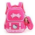 Olá Kitty Mochilas Escolares Para Crianças Meninas de Nylon Saco de Escola Princesa Crianças Menina Mochila Schoolbag mochila escolar À Prova D' Água