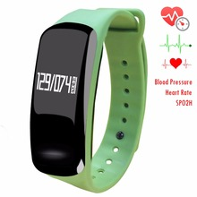 Newyes NBS04 Detachable Wristband Smart Watch Blood Pressure Monitor Smart Watch Fashion Fitness Tracker Waterproof Bluetooth