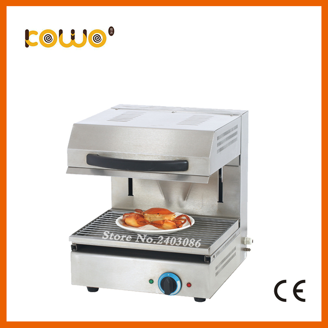 kitchen salamander black sink lowes ce stainless steel lift up electric oven grill machine silver toaster