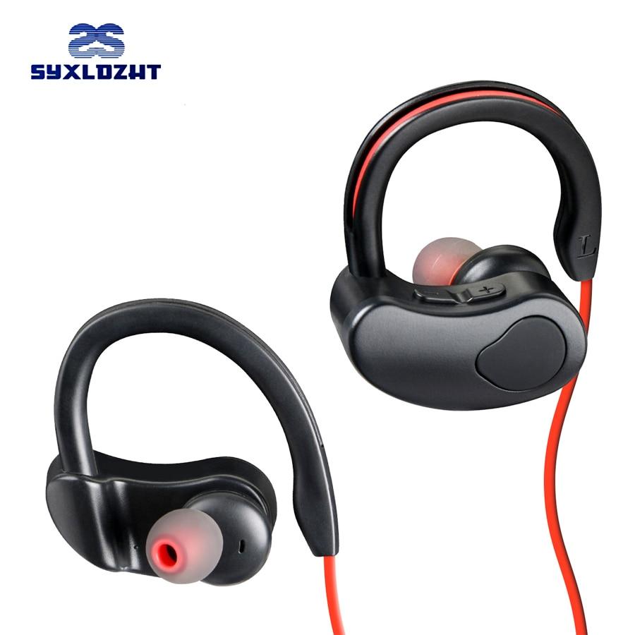 Sport Bluetooth Earphone Stereo Wireless Headphones With Microphone bluetooth Headsets Earbuds For Phone kulakl k xiaomi top mini sport bluetooth earphone for zte concord earbuds headsets with microphone wireless earphones