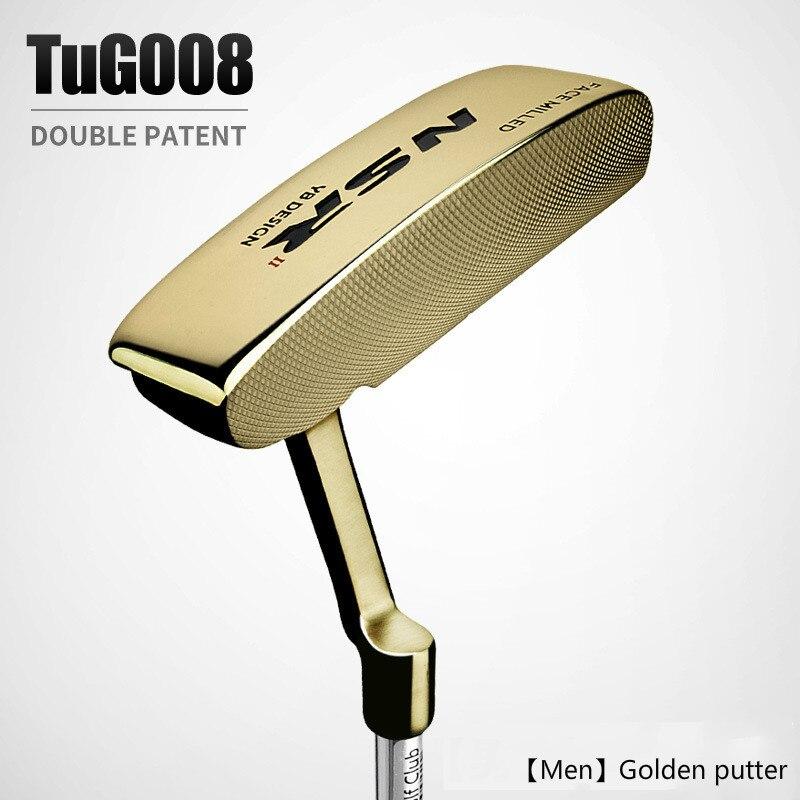 PGM Golf Club NSR mens gold black gold putter special