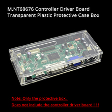 For our M.NT68676 controller driver card motherboard LED/LCD controller driver board transparent Acrylic protective case box