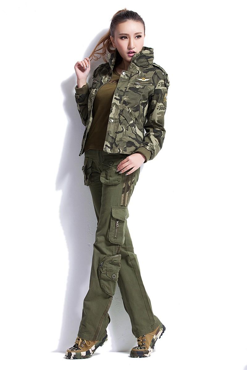 Tactical United Green Women 6