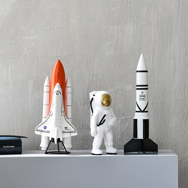 Astronaut Sculpture Handmade Home Decor 3