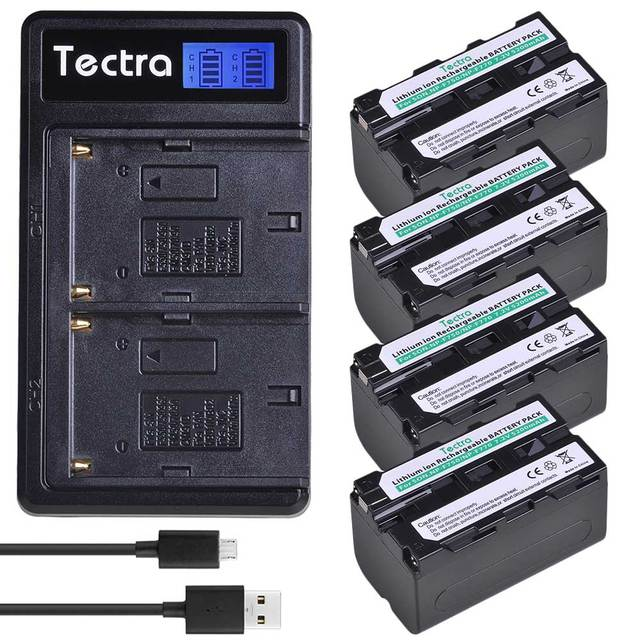 4 battery 1 charger