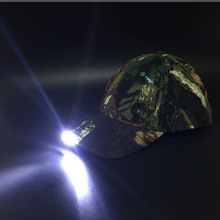 Night Fishing Caps With LED Lamp Climbing Sports Multi-purpose Head Light Cap