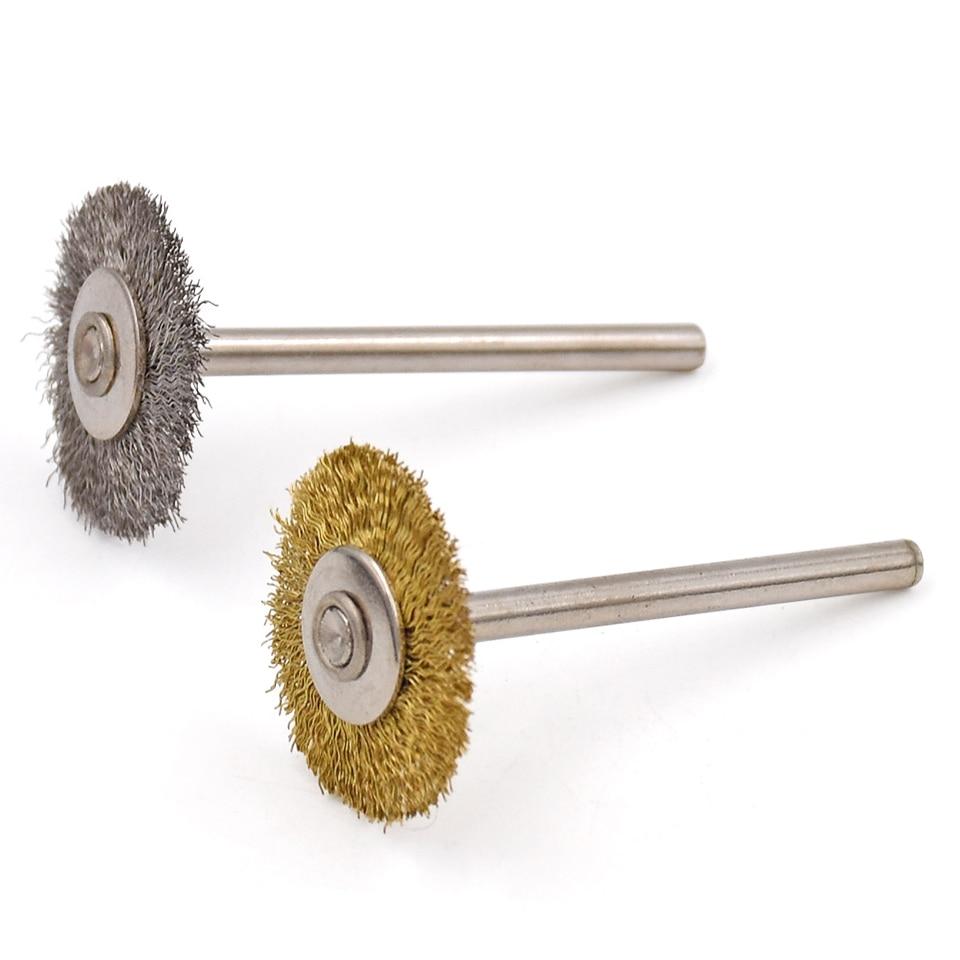 20ks pro příslušenství Dremel Abrasive Steel Brush Brush Brush - Brusné nástroje - Fotografie 5