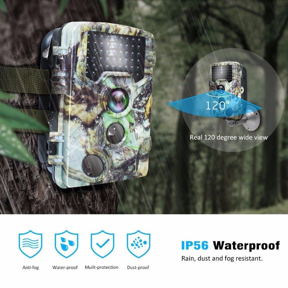 16MP Night vision 2.4LCD Hunting Wild Camera H881 Photo Trap 1080P IP56 Waterproof Infrared Trail camera 1