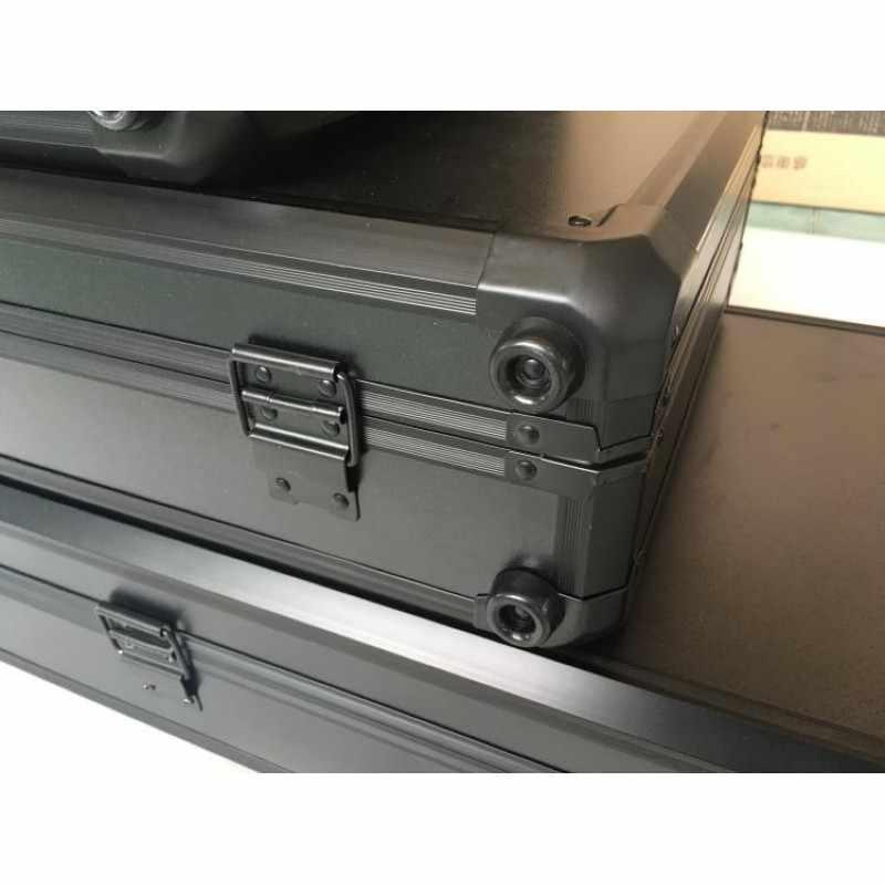 Длинный ящик для инструментов из алюминиевого сплава ударопрочный защитный чехол для инструментов чехол для костюма чехол для рыбьей удочки с противоударной губкой
