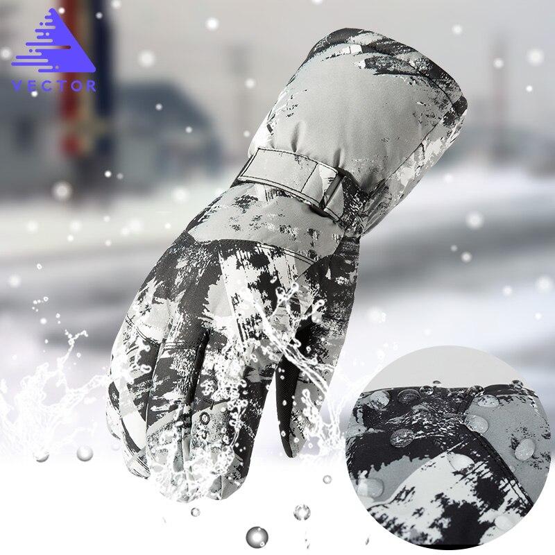 Luvas de Esqui Equitação Luvas Unissex à