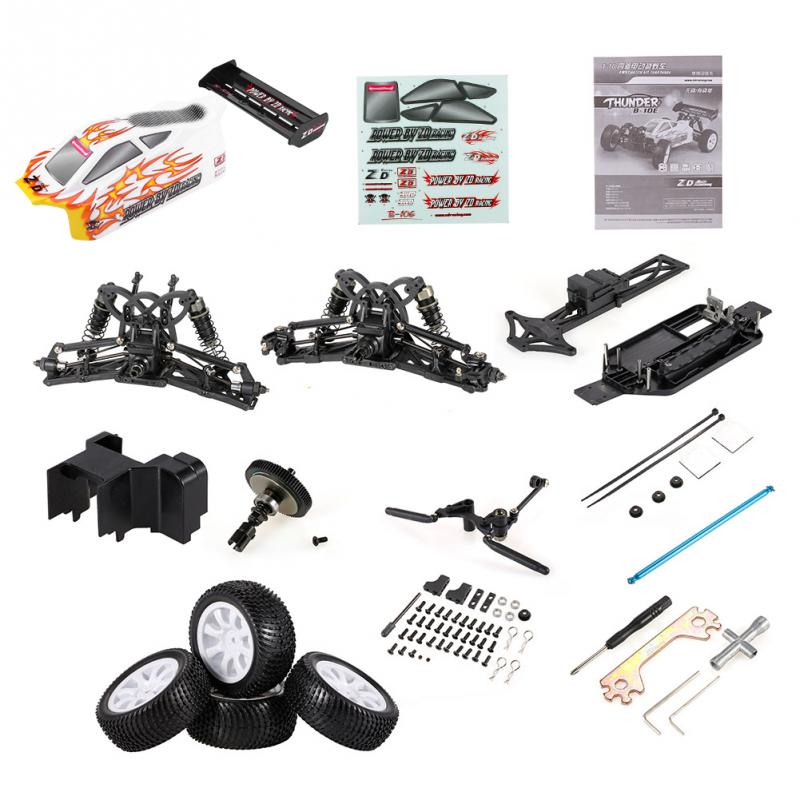 RC Parts RC Car Shell Body Frame DIY Part Kit Plastic Aluminium Alloy For 1/10 Cross Country Model Vehicle RC Car Accessories