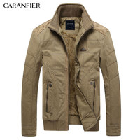 CARANFIER 2017 New Winter Mens Jackets Cashmere Outwear Men S Coats Casual Slim Style Designer Fashion