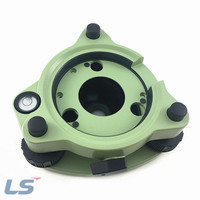 Green Three Jaw Tribrach Without Optical Plummet For Total Station